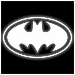 Triigitav helkurmaterjalist BATMAN