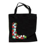 """Закупочная сумка с отражателем и орнаментом """"ПОЛЕВЫЕ ЦВЕТЫ"""""""