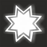 Triigitav helkurmaterjalist TÄHEKE 3