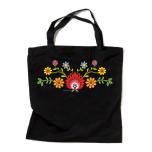 """Закупочная сумка с отражателем и орнаментом """"ЦВЕТЫ"""""""