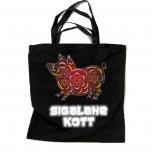 """Закупочная сумка с отражателем и орнаментом """"SIGALAHE"""""""